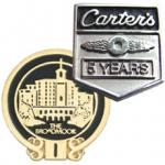 Years Of Service Pins, Lapel Badges