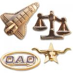 Die Cast Lapel Badges, Lapel Badges
